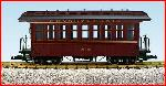 USA Trains R30302 - PENNSYLVANIA PASSENGER-TUSCAN/BLACK