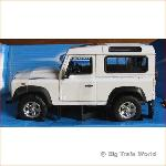 Welly 22498W - Land Rover Defender, 1:24
