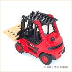 Welly 4482R - Fork Lift Truck Red
