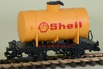 LGB  94280 - Toy train Shell Tank car - Used, in good condition, with box