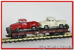LGB 45590jt - Flatcar with Trucks